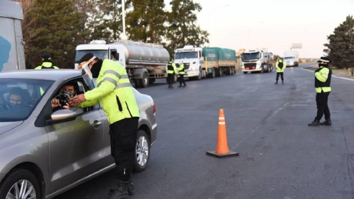 Circulación en Santa Fe con las nuevas restricciones