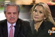 Duro cruce entre el gobierno de facto de Bolivia y Argentina