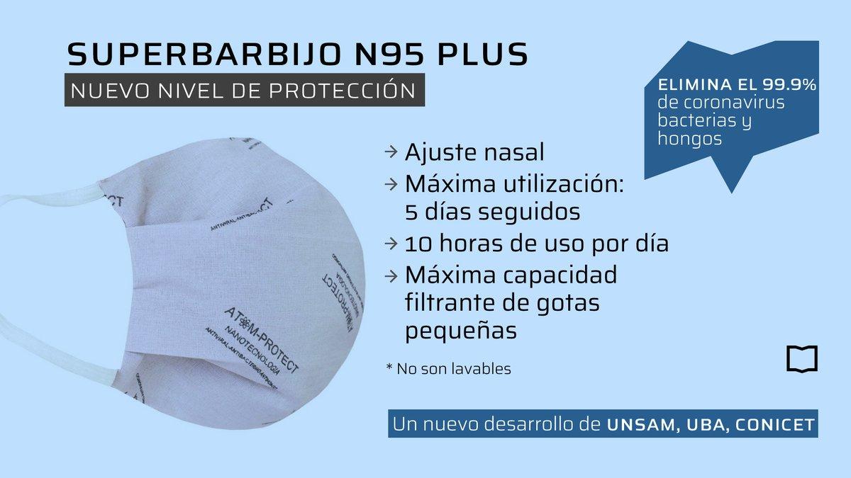 Un nuevo barbijo ATOM PROTECT N95 PLUS para prevenir el COVID