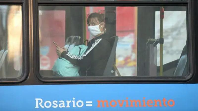 Nuevas medidas sanitarias en el transporte de Rosario