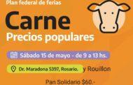 Carne a precios populares en Rosario