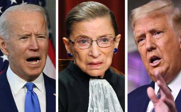 Se desató la puja por la nominación del reemplazo de la fallecida jueza Ruth Bader Ginsburg