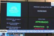Media sanción a la prevención del grooming y el ciberacoso