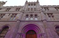 La UNR inauguró la restauración de la fachada de Facultad de Humanidades