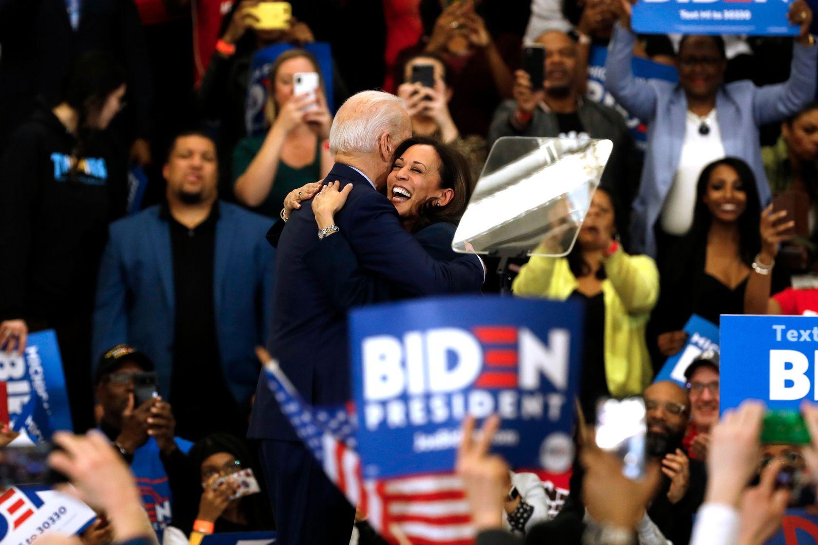 Joe Biden aceptó la candidatura demócrata a la Presidencia