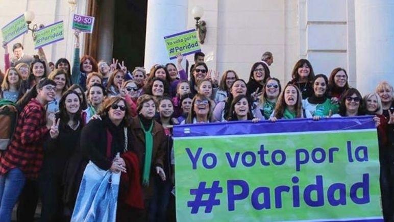 Legisladoras van por la sanción definitiva de la ley de paridad