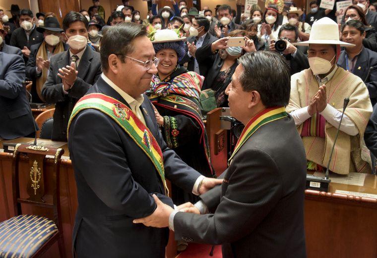 Asumió Luis Arce como nuevo presidente de Bolivia