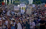 Marchas anticuarentena en España