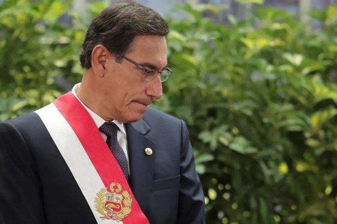 Renunció Martín Vizcarra. Manuel Merino asumió como nuevo presidente de Perú