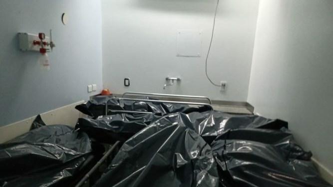 Colapsó la morgue del PAMI I