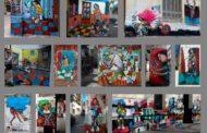 Arte en pintura, muros con mensaje social