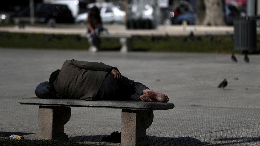 La pobreza alcanzó el 40,9% en el primer semestre